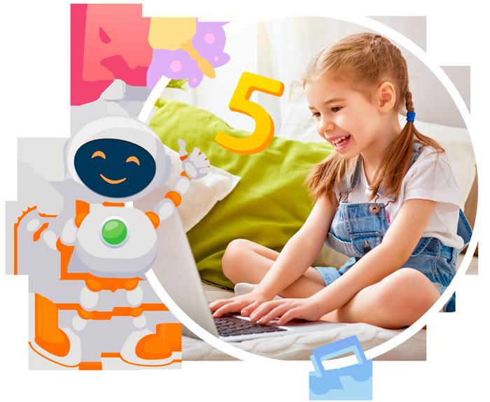 Робоборик. Подготовка к школе онлайн